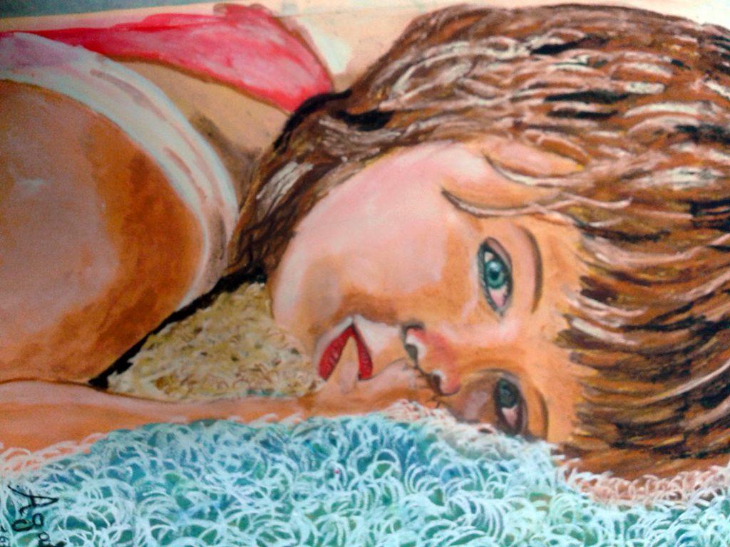Το κορίτσι με τα πράσινα μάτια